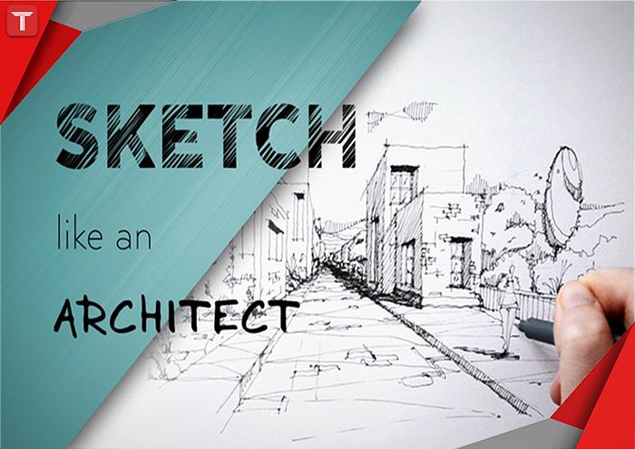 طرح تو طرح|معماری|طراحی|اسکیس