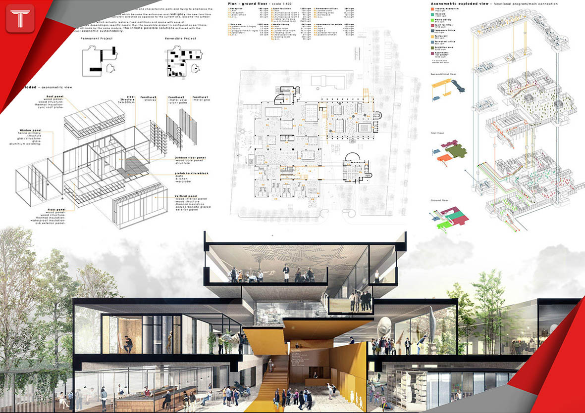 شیتبندی در معماری
