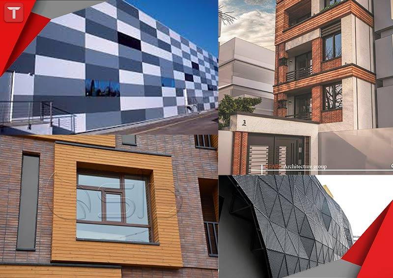 طرح تو طرح|طراحی|معماری|نما|انتنخاب نمای ساختمان
