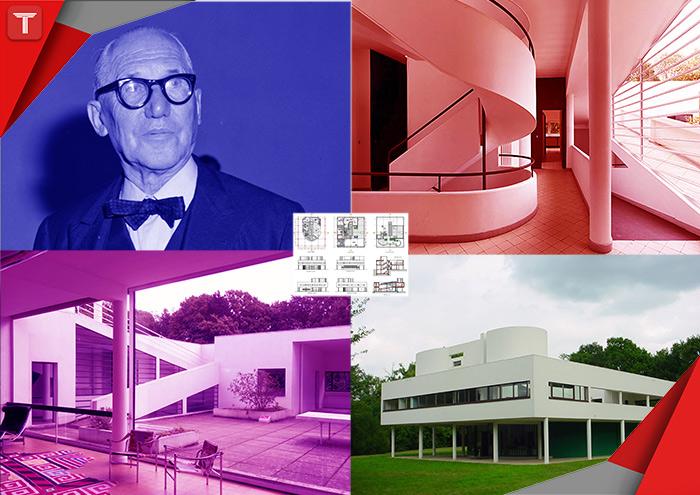 طرح تو طرح|طراحی|معماری|لوکوربوزیه|پنج اصل لوکوربوزیه