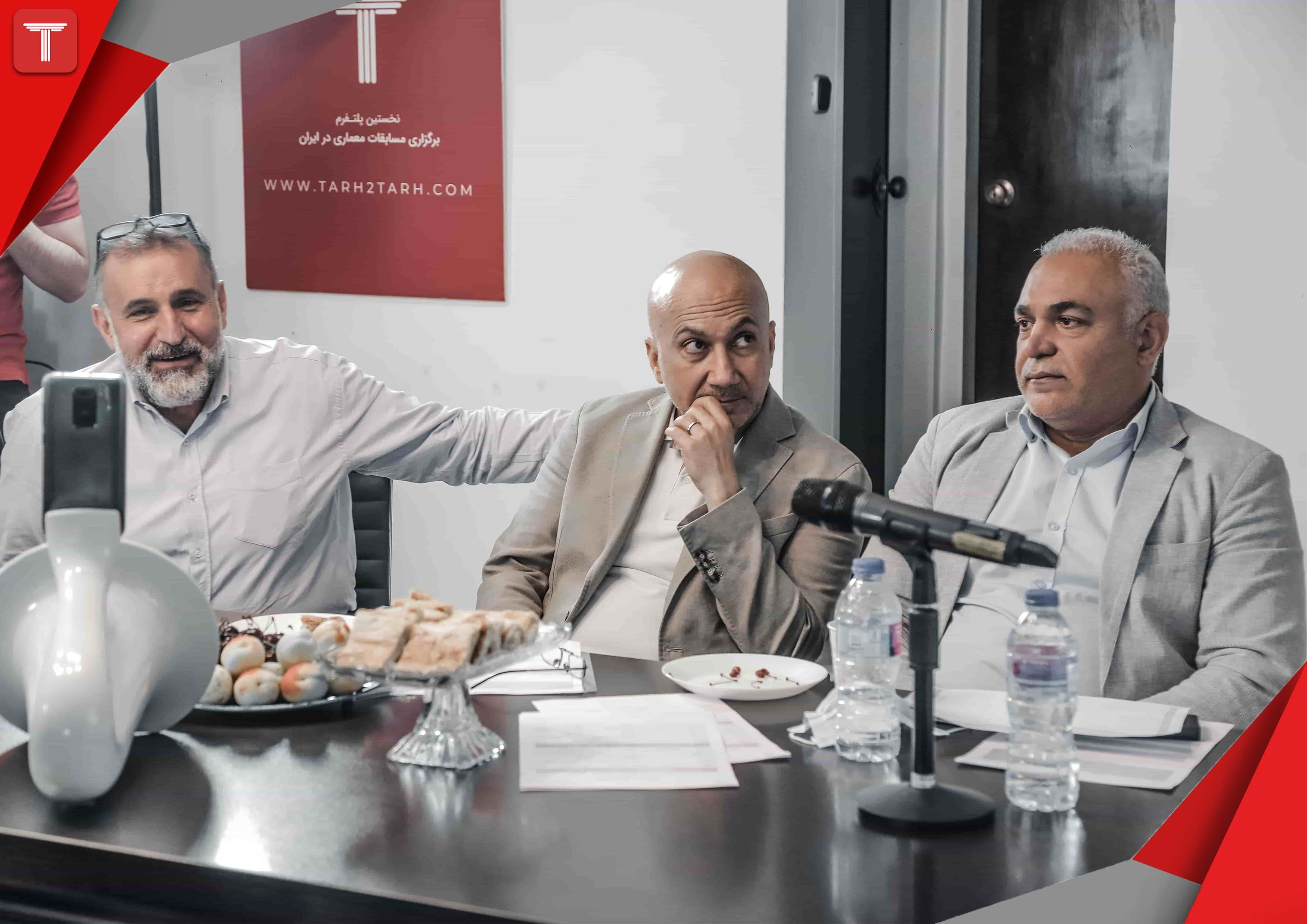 دفاعیه مسابقه دو مرحله ای طراحی پلان و نما خانه خوب