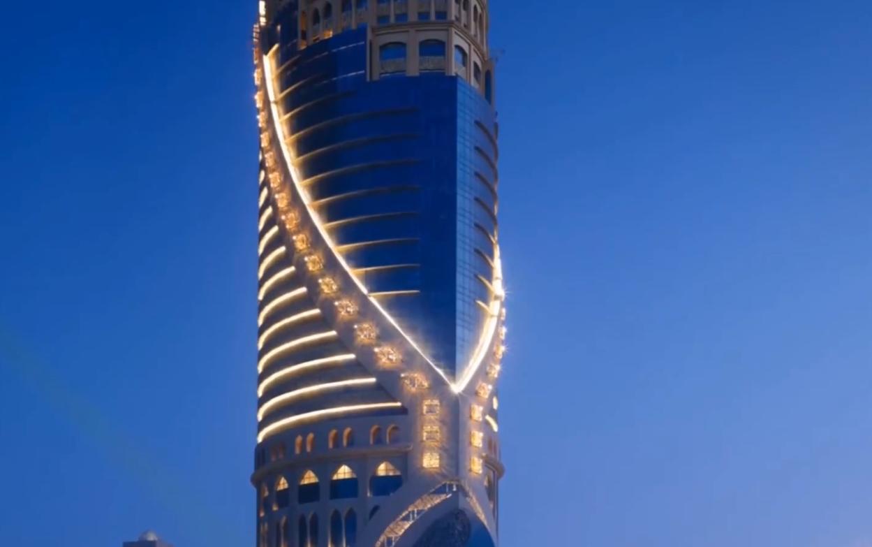طراحی برج MONDRIAN در دوحه(قطر)
