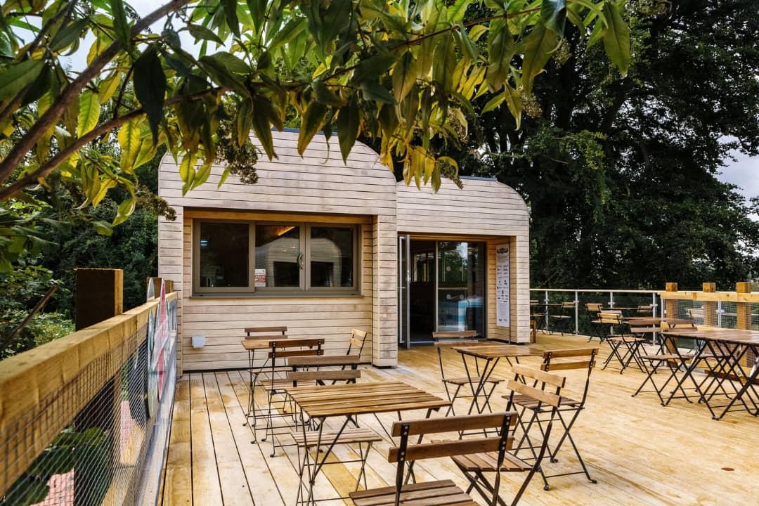 کافه مدرن با طراحی فوق العاده