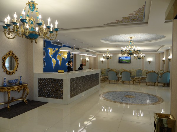 طراحی و نظارت کامل پروژه هتل خواجو اصفهان