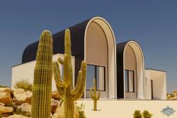 طراحی ویلا در اقلیم گرم وخشک