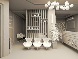 طراحی داخلی مطب داندانپزشکی