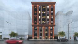 نمای ساختمان معاونی
