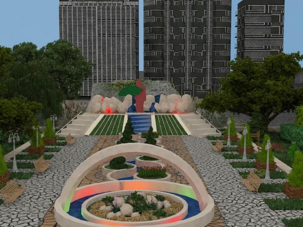 طراحی پارک سوسنگرد تبریز