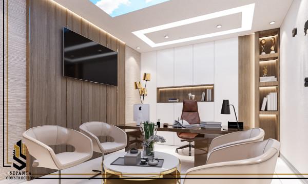 طراحی داخلی دفتر وکالت