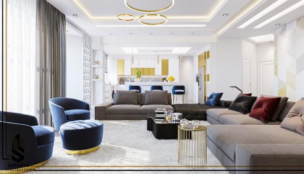 طراحی داخلی مسکونی مدرن