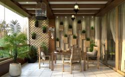 طراحی و مدلینگ داخلی پروژه روستای زیارت گرگان