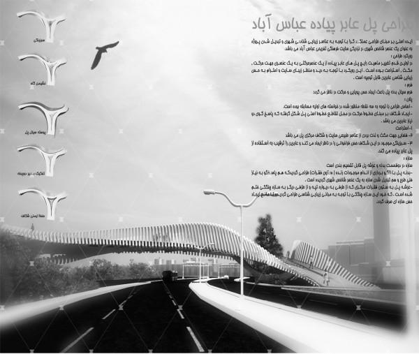 پروژه پل چند منظوره عباس آباد