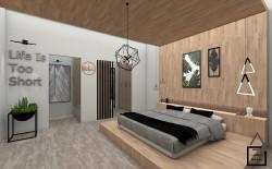 طراحی داخلی پروژه مسکونی سعادت آباد