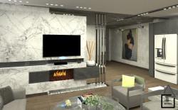 طراحی داخلی پروژه مسکونی رامسر